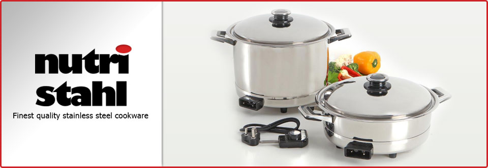 Nutri Stahl Cookware - Manufacturers of the Magicooka in Western Cape, Cape Town